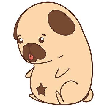 Star Pug by FaMauroo