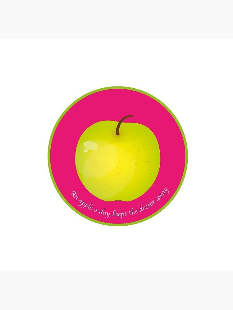 «An apple a day keeps the Doctor away» par RosaLeeDesign