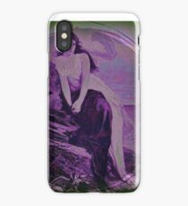 Lady By The Sea iPhone Case