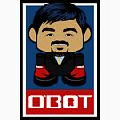Pacquiao'bot Toy Robot 2.0 by Carbon-Fibre Media