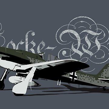 Focke-Wulf 190 D by siege103