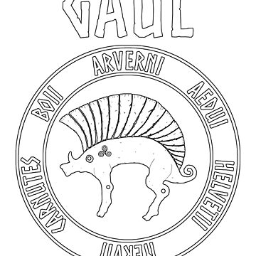 Gaul Ancient Gaelic Tribes Ancestors by WarlordApparel