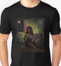 """Waiting by the phone"" Unisex T-Shirt"
