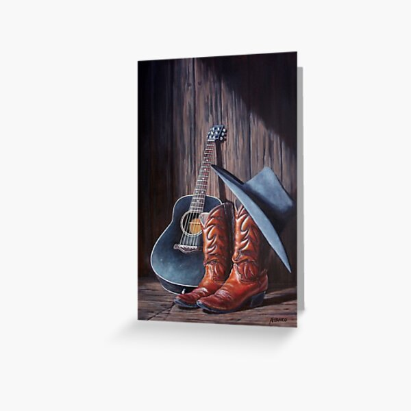 """Boots"" Greeting Card"