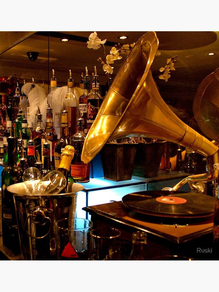 Gramophone at the Blind Pig, Norwich by Ruski