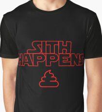 Sith Happens - Star Wars - Wortwitz Graphic T-Shirt