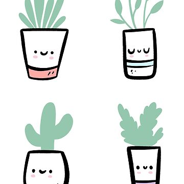 Plants Nature Garden Cute Illustration by piratart
