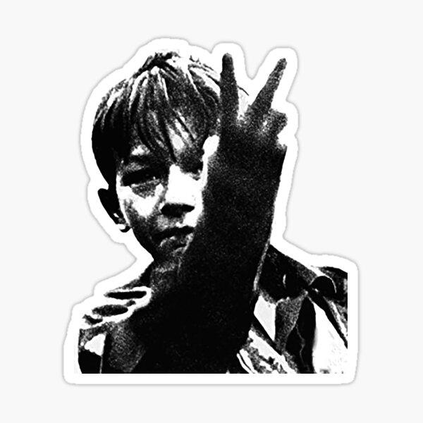 Kes retro Film set in Barnsley 1969 Sticker