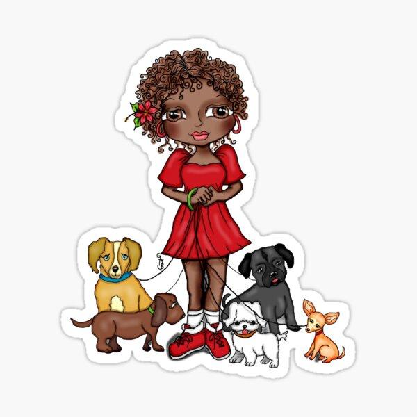 MARIBEL DOG LOVER Sticker