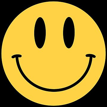 Smiley Face - Smiley Face Emoji - Classic 90's style by WishingInkwell