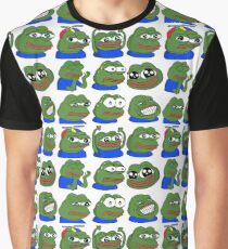 Pepe Overload - 9 Pepes Graphic T-Shirt