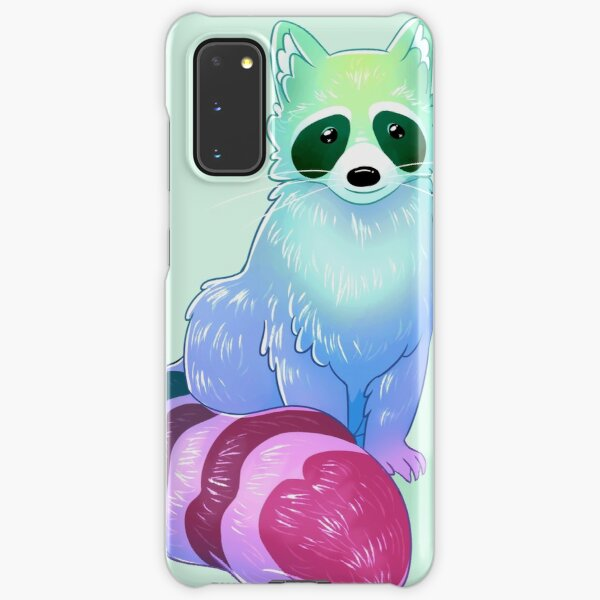 """""""You Don't Get to Decide You're Unlovable or Unworthy"""" Encouraging Raccoon Samsung Galaxy Snap Case"""