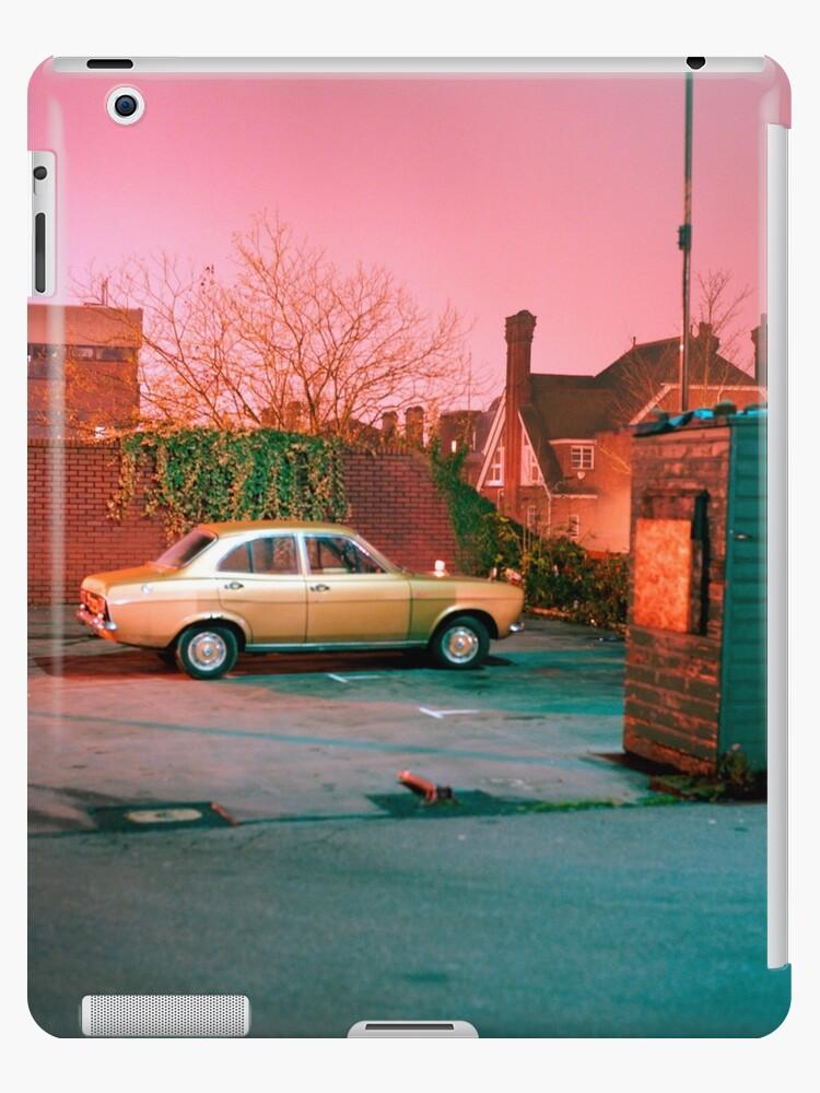 Vintage Mark I Ford Escort by night by James Waldorf-Nicol