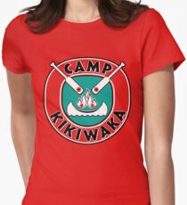 Camp Kikiwaka - Bunk'd - red background Women's Fitted T-Shirt
