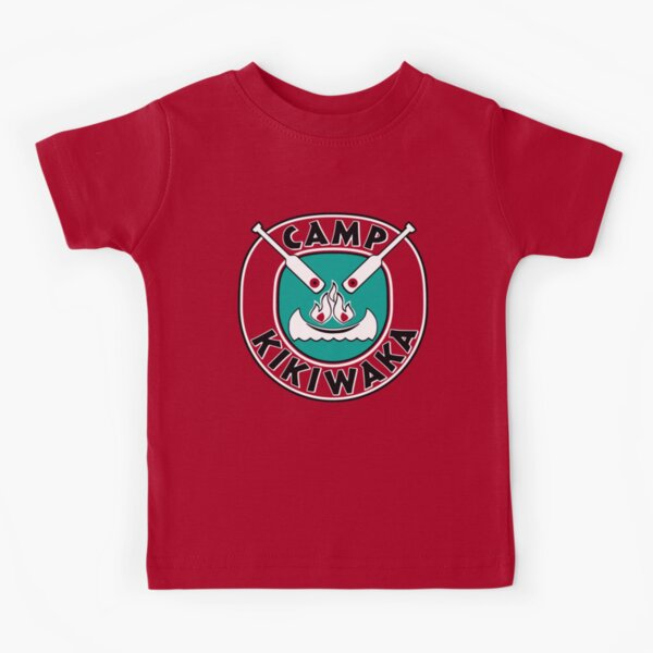 Camp Kikiwaka - Bunk'd - red background Kids T-Shirt