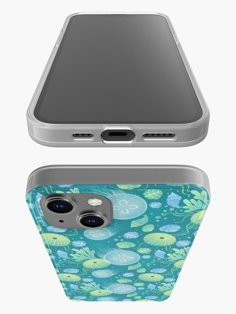 Alternate view of Ocean life iPhone Case