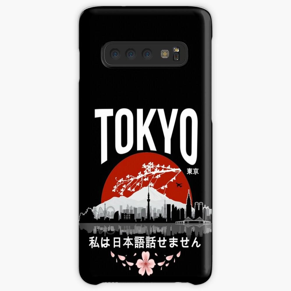 Tokyo - I don't speak Japanese: White Version Case & Skin for Samsung Galaxy