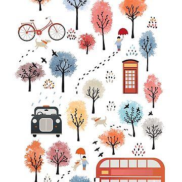 London transport by Elenanaylor
