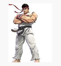 Smash Bros Ultimate - Ryu Photographic Print