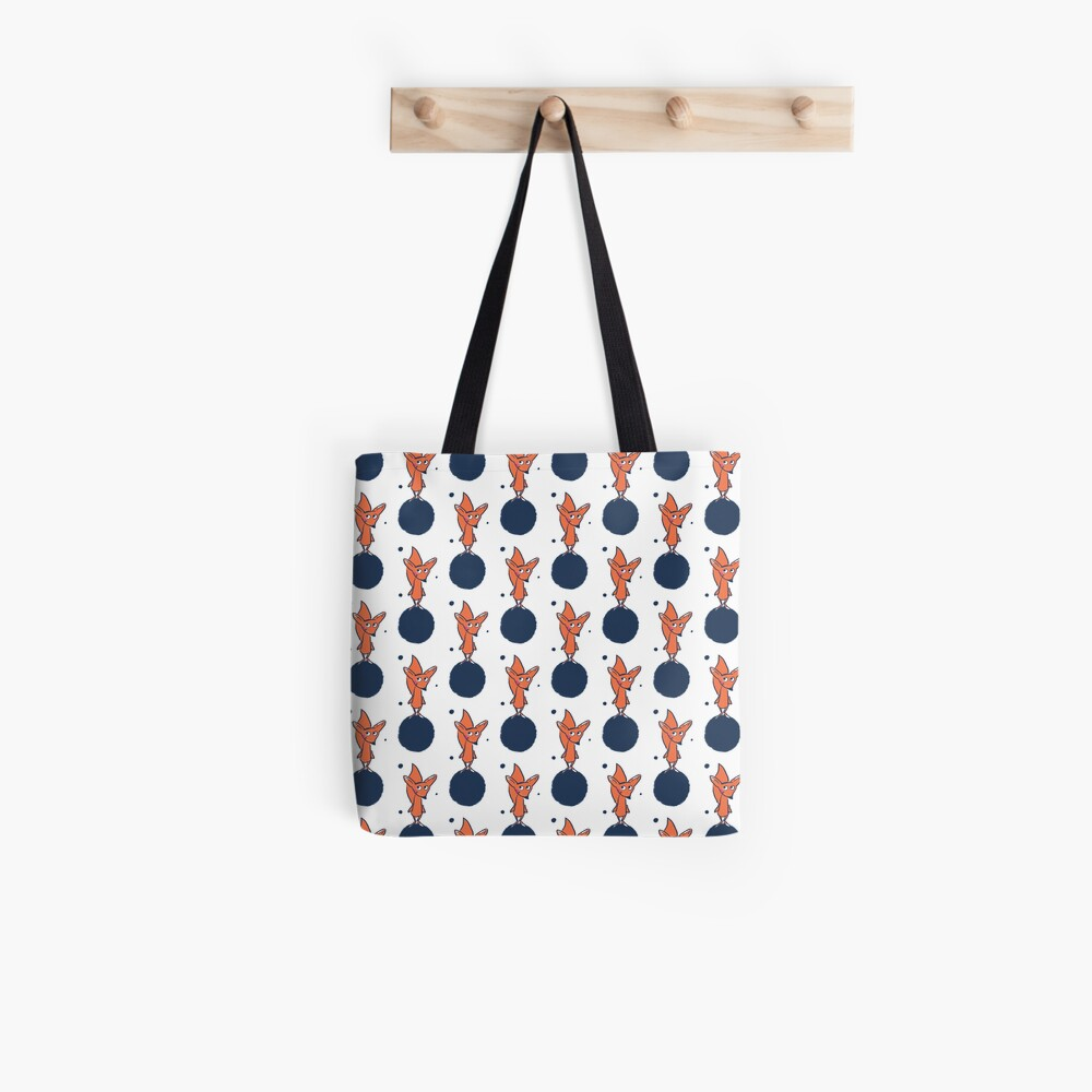 Fuchs im Weltall Stofftasche