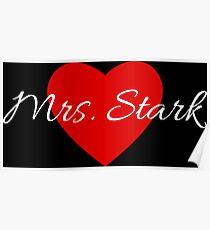 Mrs. Stark Poster