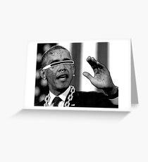 Obama Cares Greeting Card