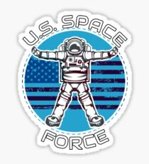 US Space Force Fourth Military Astronaut Sticker