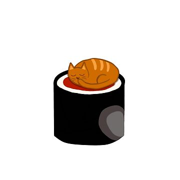 Sushi cat by ChromeLion