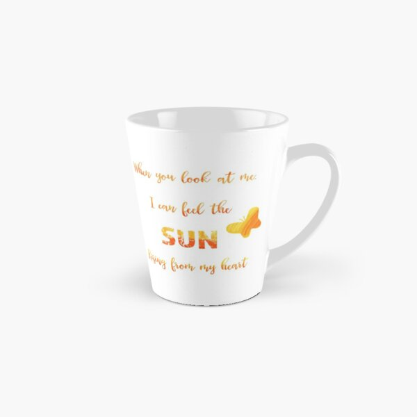 When you look at me - love quote Tall Mug