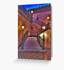 Stepping Out - The Capitol Theatre  - The HDR Experience Greeting Card