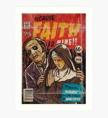 Faith - Ghost Comic Series Art Print