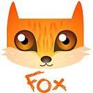 « Petit renard fox » par Castel Yvonne
