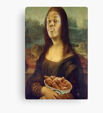 KSI Mona Lisa Canvas Print