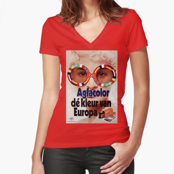 LUNETTES T-shirt moulant col V