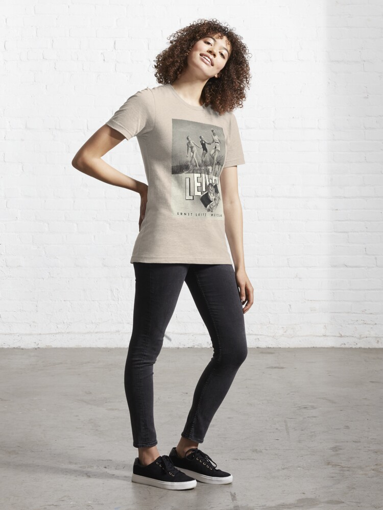 T-shirt essentiel ''3 GIRLS': autre vue