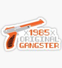 1985 Original Gangster Gamers Nintendo Duck Hunt Sticker