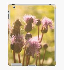Summertime flowers iPad Case/Skin