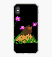 Little Mole and Flower iPhone Case