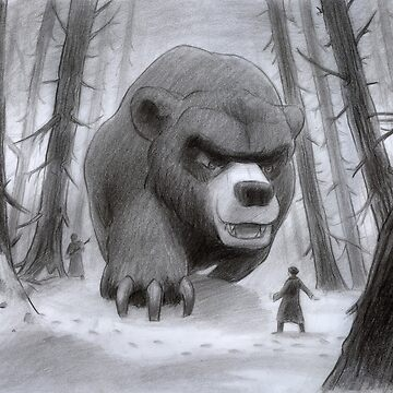 Vlad and Lev confront the Great Bear by dan372002