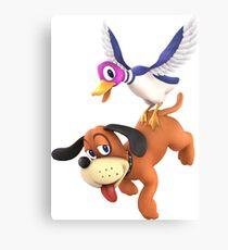 Smash Bros Ultimate - Duck Hunt Canvas Print