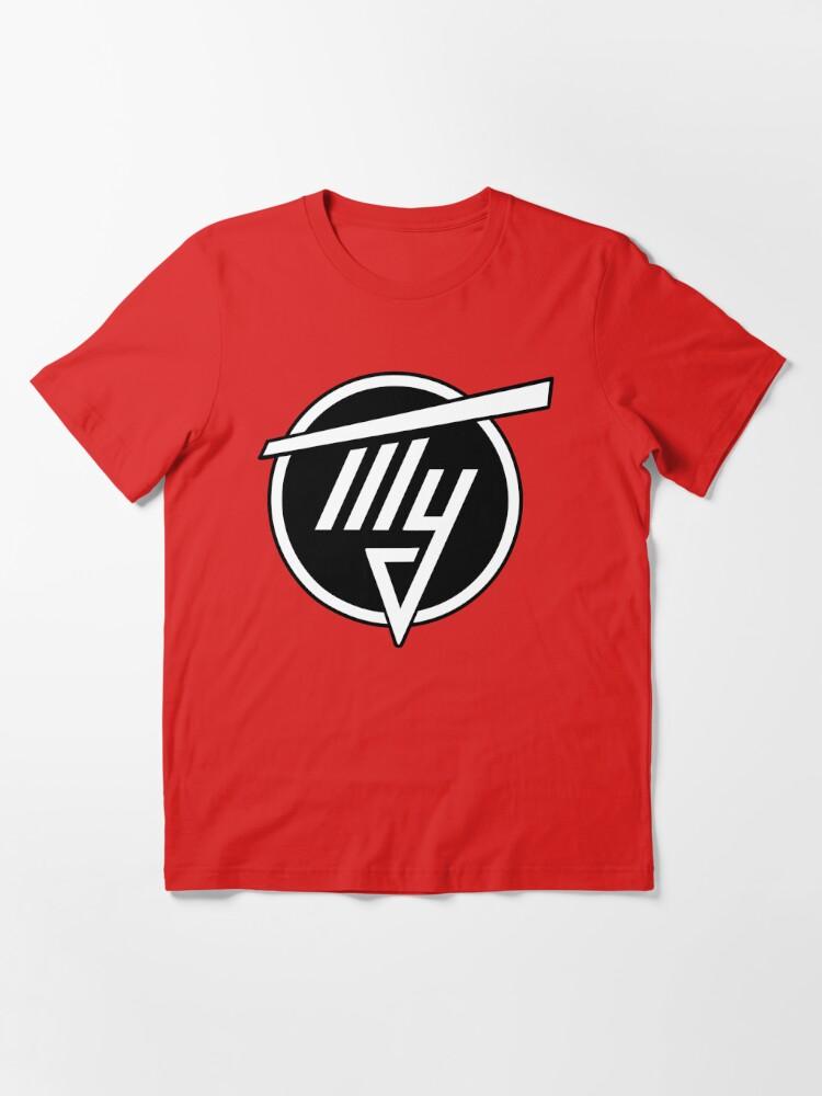 Alternate view of Tupolev Aircraft Logo (Black) Essential T-Shirt
