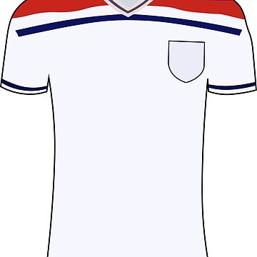 England 1982 Shirt by DanDobsonDesign