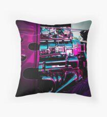 Purple Demon Throw Pillow