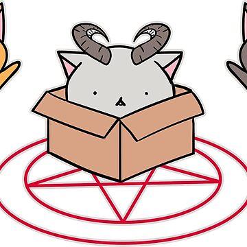 Ritualistic Cats by diosore