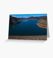 Dartmouth Dam Greeting Card