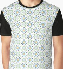 prismatic abstract chromatic art seamless colorful repeat pattern Graphic T-Shirt