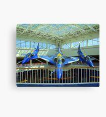Blue Angels Jets #2 Canvas Print