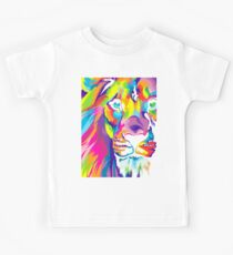 Psychedelic Lion Kids Tee