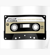 What do you think about the car? Cassette (Declan McKenna) Poster