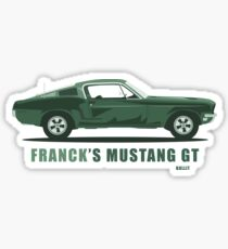Franck's Mustang GT from Bullit Sticker